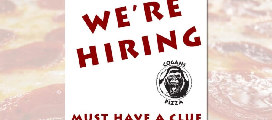 We're hiring if you're ready to work