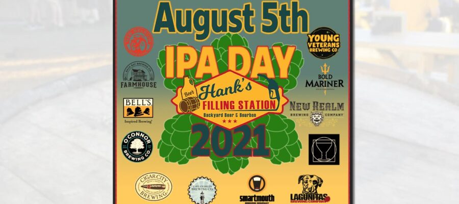 Let's celebrate IPA Day at Hank's