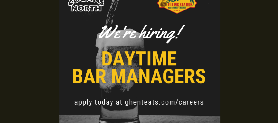 We're hiring a Daytime Bar Manager. Is that you?